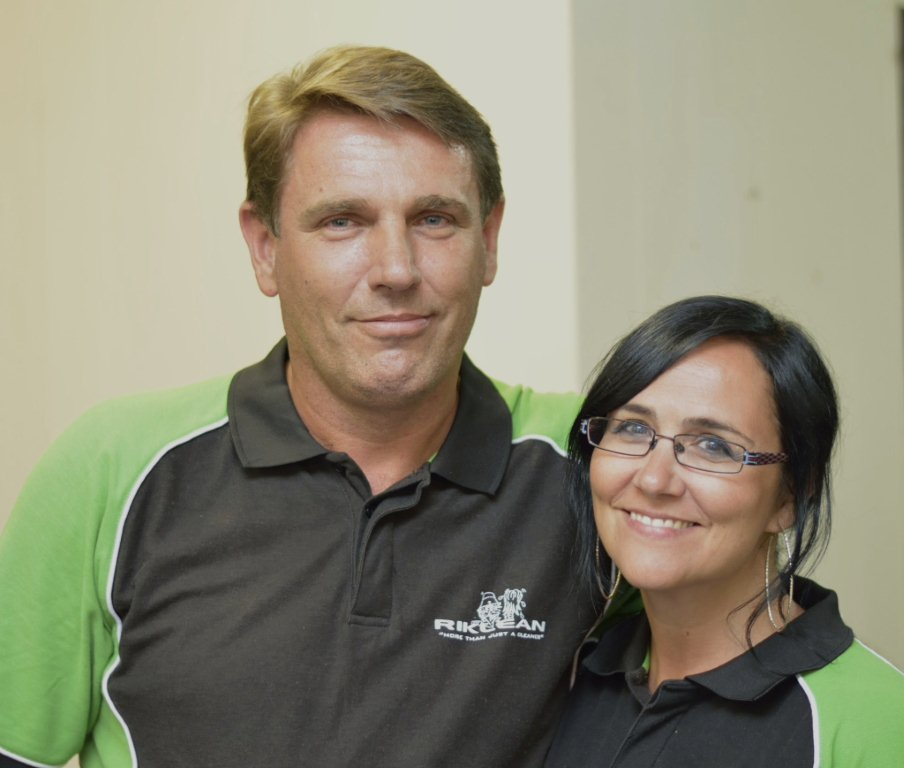Riklean Founders, Rik & Linda - Cleaning Services Perth
