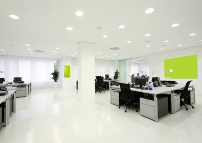 Beautiful Big Clean Office Area - Perth Strata Cleaning Services