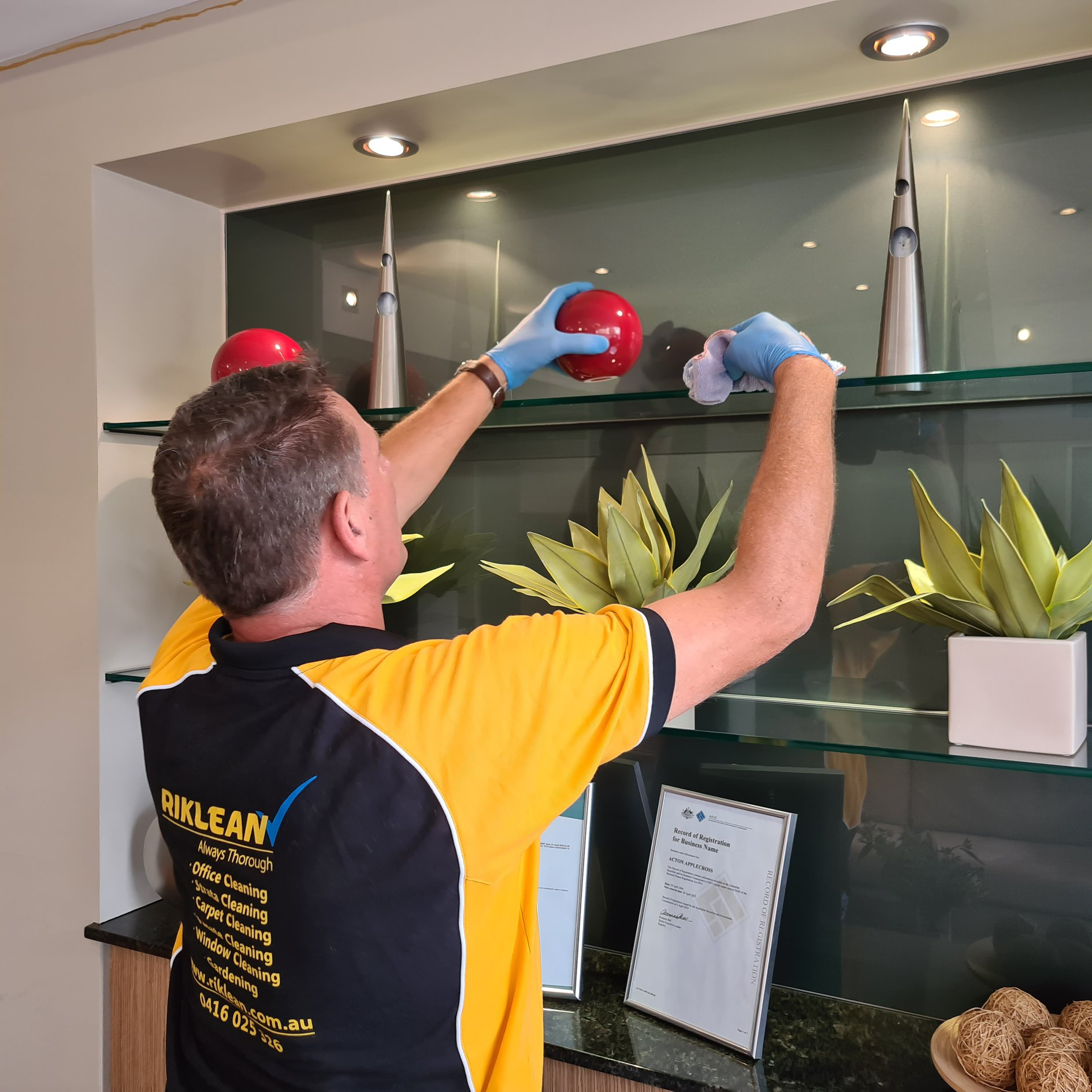 Riklean Perth Cleaning Services Van - Cleaning Services Perth